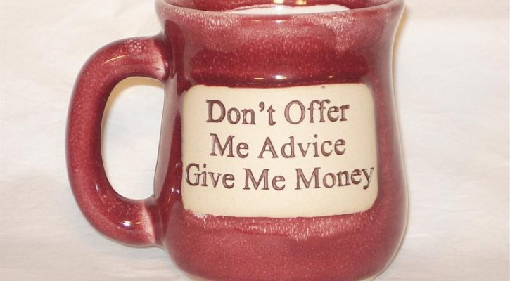 Give me money (photo: )